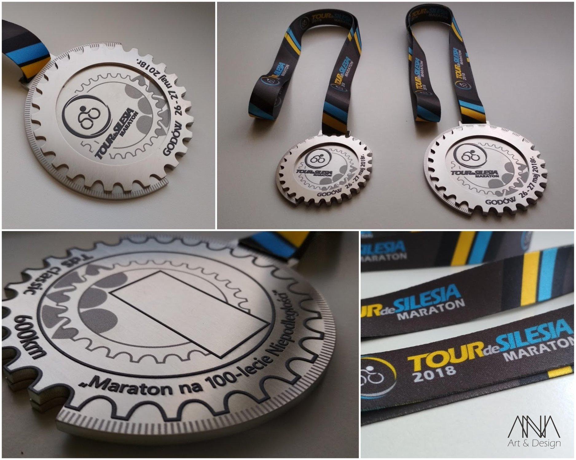 medal Tour de Silesia 2017